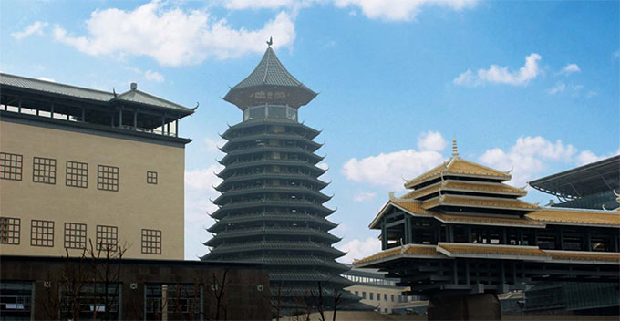 Guilin,two museums, a hospital