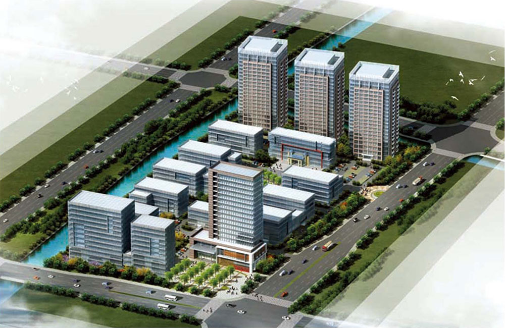 Ma On Shan Cheng Po Kong New modern industrial park ofv