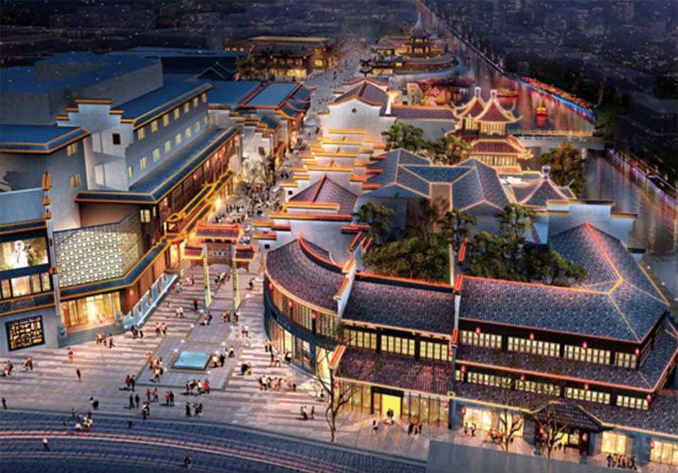 Nanjing Confucius Temple renovation project