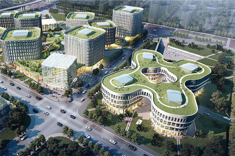 Shanghai Hongqiao Business District